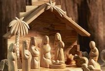Christmas / A collection of Christmas related wood carvings