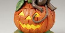 Halloween / A collection of Halloween​ related wood carvings and carving ideas