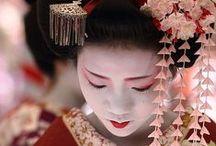 Japan / I love Japan - Kimonos, Geishas, Temples, Cherry Blossom, Sushi and more...