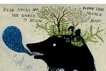 Bats, bears and trees.... / by Ashley Ramage