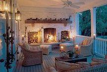 Outdoor-ish Living Space Design Ideas / by Kristen Perella