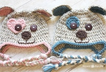 Crochet Clothing / Sweaters, booties, hats, scarves, gloves and slippers. / by Charmed By Ewe