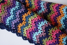 Crochet Afghans & Pillows / by Charmed By Ewe