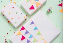 Craft: Gift Wrap, Cards, and Tags / Put your stamp on that next gift you give with DIY gift wrap, cards, and tags.