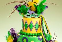 CELEBRATE: Mardi Gras / A board with ideas, inspiration, crafts, printables and recipes for Mardi Gras!
