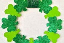 St. Patrick's Day / May the luck o' the Irish be with ye on this board - with ideas, inspiration, crafts, printables and recipes for St. Patrick's Day!