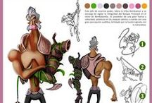 Character design • Diseño de personajes