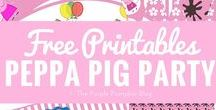 Printables! / Free printables are where it's at if you want to save some money when it comes to parties, organisation, arts, crafts and lots more! Plus lots of fun with coloring pages, games and kids activities - there's a free printable for it!