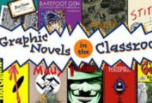 Graphic Novels in the Classroom / Think graphic novels and comics are just for kids? Think again. We spoke with professors across the country who incorporate graphic novels into their curriculum and design whole courses around them. Read it on the blog ---> http://ow.ly/BZ8qz  / by Textbooks.com