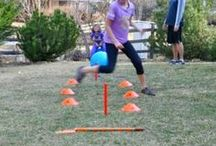 Kids Fitness Games / Getting kids active and moving with fitness games.