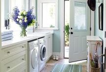 House: Laundry and Mud Rooms / These wet areas are integral to your home. Great ideas for space utilisation and decoration.