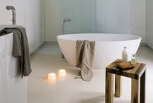 House: Bathroom and Toilet / Beautiful bathrooms to relax in, and also maintain a sense of practicality