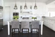 House: Kitchen and Dining / Design and decorating inspiration for your kitchen and dining areas.