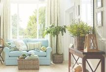 House: Living Spaces / Exquisite living spaces and nooks from now, and then.
