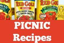 Spring Recipes / Spring Recipes and Picnic Inspiration #RedGoldRecipes #SpringRecipes