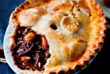 Savoury Pies / A board full of delicious pies! This one is all about the savoury pies!