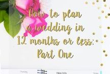 Wedding: Hints and Tips / Don't stress yourself out planning your wedding. Use these tips to get you through the planning stage, the day itself, and the months post-wedding.