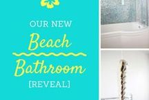Bathroom Inspiration / Ideas & Inspiration for renovating, or redecorating your bathroom. Whether you are replacing the whole bathroom suite,  redecorating, or just want to spruce things up with some accessories, this is the board to follow!