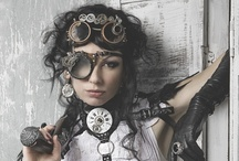 Steampunk / fashion, character ideas, gadgets, quotes, art, landscape
