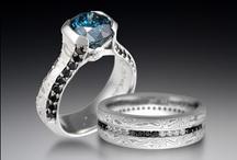 Black Diamond Jewelry / by Krikawa Jewelry Designs