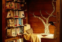 Bookcases & Reading Nooks / all things book related, writer's life, bookcases, reading nooks