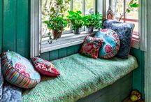 Cozy Seats and Beds