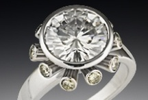 Futuristic Rings / by Krikawa Jewelry Designs