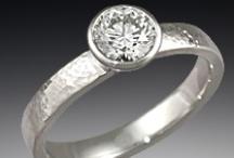 Modern Engagement Rings / by Krikawa Jewelry Designs
