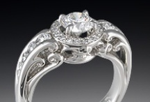 Halo Engagement Rings / by Krikawa Jewelry Designs