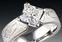 Mokume & Diamond Accents / by Krikawa Jewelry Designs