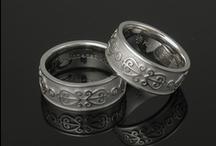 Eternity Pattern Wedding Rings / by Krikawa Jewelry Designs