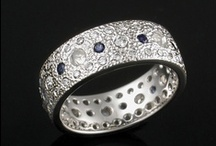 Textured Wedding Bands / by Krikawa Jewelry Designs