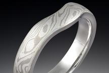 Shadowed & Contoured Wedding Rings / by Krikawa Jewelry Designs