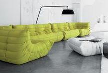 Sofa Potato / Someday I will own a proper sofa and I will invite you over for tea.