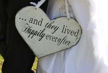 Wedding Signs and Words of Wisdom / Fun signs that couples are using at their weddings! / by Krikawa Jewelry Designs