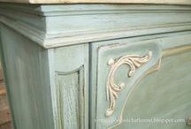 Furniture Painting / Annie Sloan Chalk Paint & other methods for painting furniture