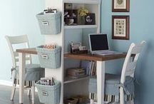Craft Room / Office  / by Ariel Wiley