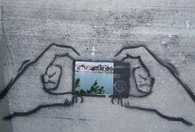 Ambient Art / Graffiti and Ambient Installations