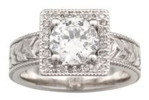 Moissanite / Looking for a gorgeous diamond alternative? Moissanite is a perfect choice for brilliance and hardness. / by Krikawa Jewelry Designs