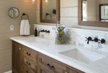 bathroom ideas / by Michelle Hackney
