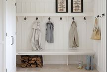 laundry and mudroom / by Michelle Hackney