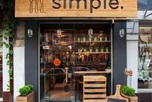 Food Concept Design / Small restaurant branding and dining concepts.