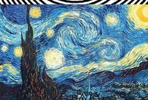 ♛♛♛ Vincent VanGogh / One of my favorite artists of all time -- from what I read, I think he was a very kind and lonely man and very sensitive... - wish he could see the impact he has on the art world today.