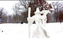 Winter In Rockford. / Explore the Winter Wonderland that is Rockford this snowy season