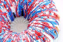 Best Patriotic Recipes And Ideas / Here you'll find all the great red, white and blue recipes and other that you'll need to amp up your Memorial, Independence, and Veterans Day celebrations!