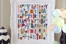 birthday's / by Missy Howard Robinson