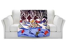 DiaNoche Designs: Holidays / Light up your holidays with artistic decor from DiaNoche Designs. www.dianochedesigns.com