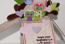Cards/In a Box/Pop Up Box Card / by Kimberley Burch