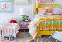 Children and Nursery Decor / Spark their imagination and creativity with these fun kid's room decor ideas.