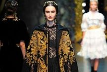 Inspiration: Fashion/Historical Couture